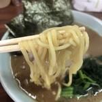 武蔵家 - 麺リフトアップ