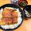 うな正 - 料理写真:うな丼ダブル ¥1,850 + ライス大盛 ¥100 + 肝吸い変更 ¥100=¥2,050