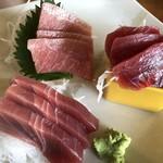 三崎「魚市場食堂」 -