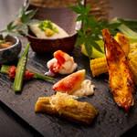 ワショク 森田 - DINNER季節の前菜