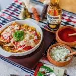 タコス メルカド - Enchiladas(エンチラーダ)