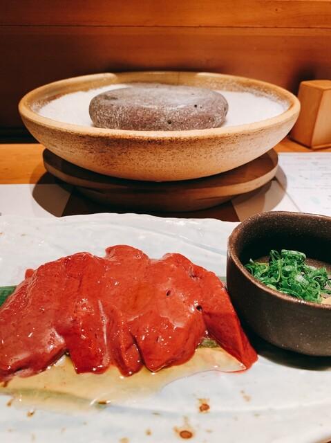 赤坂 金舌 - 日本一のレバー溶岩焼き