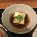 鯛茶や - 揚げだし豆腐