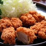 とんかつ 椿 - 料理写真:あけび(ヒレカツ)