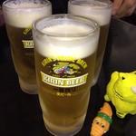 來來餃子館 - 黄色いトラはにゅん様の化身 初お目見えの ワニとキトラの微妙な距離感(笑)