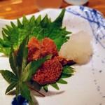 河竹鮨 - 魚卵系止められません(^o^;)