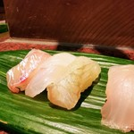 河竹鮨 - 白身魚好きにはたまりません(*>∀<*)