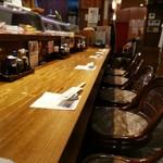 河竹鮨 - たまたまカウンター空席。すぐにお客さんが(*^-^*)