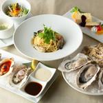 オイスターハウス静岡 - 絶品!牡蠣食べ尽くしコース