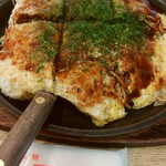 てっ平 - 肉玉そば(1026円)