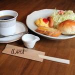 Cafe&diner West - S日替わりモーニング