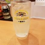 日高屋 - レモンサワー