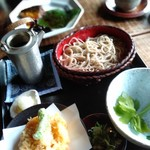 113681055 - 天ぷら蕎麦¥2400