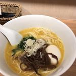 麺屋すみす半蔵門 - 味玉水炊きラーメン(850円)