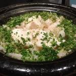 明日香 - ヒラメの土鍋ご飯