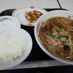 餃子の王将 - 「サンマーメンランチ(¥800税込)」