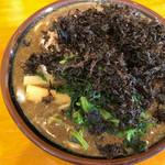 豚骨醤油ラーメン マルセイ - ニボトン