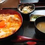 下野の鶏処 田村屋本店 - 料理写真:せせり親子丼セット 飲み物付き 899円税別