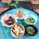 わっぱ堂 - 料理写真:前菜5種盛り
