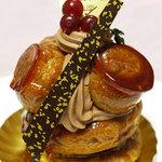 メゾン・ド・キタガワ - 料理写真:サントノーレ(320円・税抜)