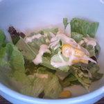 kurinoki - ランチセットのサラダ・・・