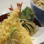 増田屋 - 当店一番人気!種物の王様・・・天ぷら蕎麦