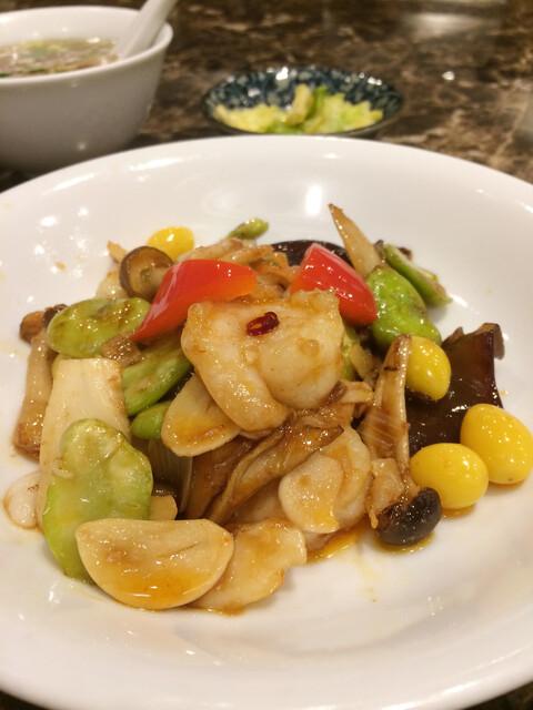 蘭蘭酒家の料理の写真
