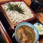 そば処久伊豆 - 料理写真:つけ鴨(1130円)