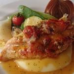 ラ パッパータ - 本日のランチ  A鶏胸肉のソテー 1,500円(税込)の、鶏胸肉のソテー
