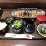 食彩館 麺工房 - 料理写真:ざるそばランチ(920円)