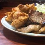 牛たん八 - 料理写真:左