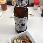 113706773 - ビール大瓶+ホルモン
