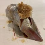 第三春美鮨 - 真鰯 118g 巻き網漁 大阪府岸和田