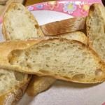 まつぼっくりパン - 【流木 \290】おまかせでスライスしてもらいました。
