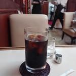 エトアール プリュス - セットのアイスコーヒー
