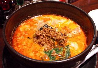 ユタの店 - ごまペーストたっぷりの担担麺
