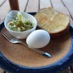 海カフェ イン ニシウラ - サービスモーニング