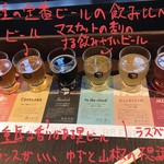 113713157 - [BEER TASTING MENU]BEER FLIGHT 1300円