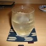 ラ・クチーナ・エスプレッサ - とろとろの梅酒 水割り