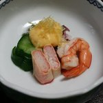 本格懐石湯波料理 割烹 与多呂 - 湯波巻カニの酢の物