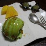 本格懐石湯波料理 割烹 与多呂 - デザートのアイス