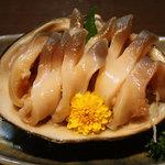 おかげさん - ホッキ貝の刺身