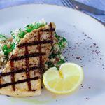 IVY PLACE - メカジキのグリル 西京味噌マリナード、カリフラワーライスサラダ とスマック