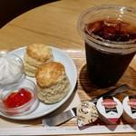 シアトルズベストコーヒー - トミーズショートブレッドハウスのスコーン2個セットです。(2019年8月)