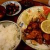 うえむら - 料理写真:鶏唐揚げ定食(950円+税)