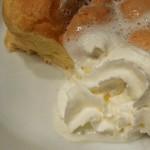 カフェカルディーノ - スフレパンケーキの断面