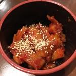 焼肉ホルモン BEBU屋  - カクテキ