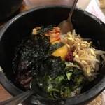 焼肉ホルモン BEBU屋  - 石焼ビビンバ