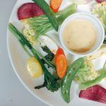 Caffè ソライ屋 - ソライ屋の野菜盛り合わせ
