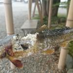 林屋 - 鮎の塩焼き